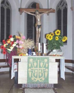 Martinskirche - Altarraum - Mai 2005